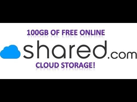 Shared Free Cloud Storage 100gb