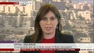 ציפי חוטובלי סגנית שר החוץ בראיון לBBC על גל הטרור בישראל