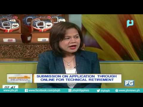 [Good Morning Boss] Usapang SSS: Submission on Application through online for technical retirement