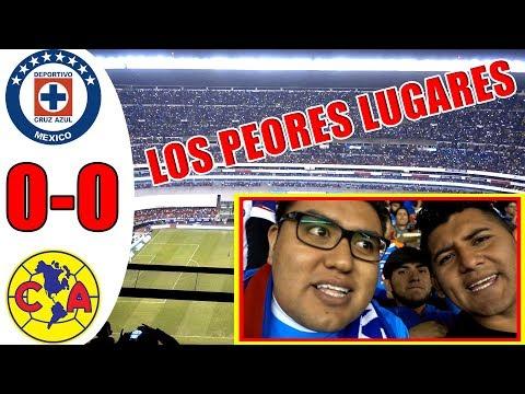 ¡LOS PEORES LUGARES DEL ESTADIO AZTECA! REACCIÓN CRUZ AZUL VS AMÉRICA 0-0