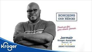 Honoring our Heroes Veteran Jermair│VIDEO │Kroger