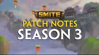 Baixar SMITE Patch Notes VOD - Season 3