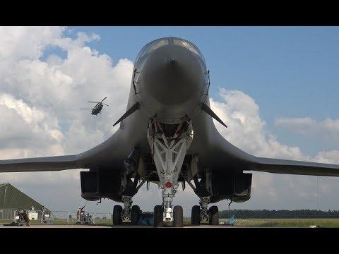 US Air Force | Impressive B-1 Lancer Static Display at ILA Berlin Air Show 2016