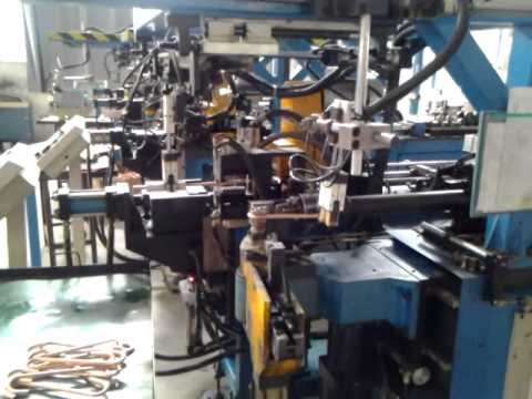 automatic three-dimensional pipe bending machine
