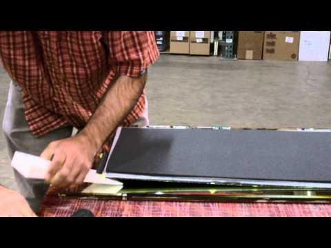 Demolding Carbon Fiber Foam Core Panel 2 of 2