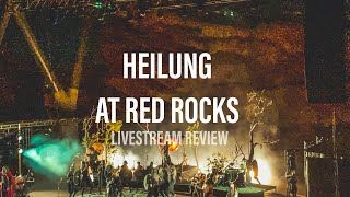 Heilung at the Red Rocks | Livestream Review @Heilung