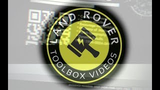 The Land Rover Toolbox Videos Welcomes You.