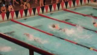 Swimming at B Districts Event 38 11-12 Boys 50 Yard Freestyle 35.40