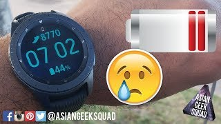 Samsung Galaxy Watch - 42mm - LTE Battery life - FAIL