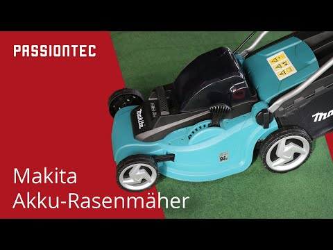 vorstellung und test des makita akku rasenm hers blm430zx2c makita battery lawn cutter. Black Bedroom Furniture Sets. Home Design Ideas
