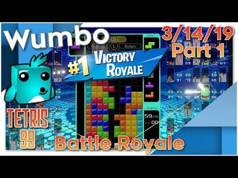 Tetris 99 - Flawless Stream 40 Win Streak - Wumbo 940+ Wins