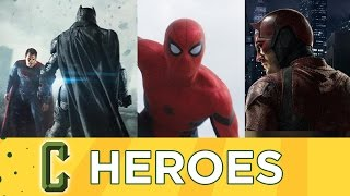 Collider Heroes - Captain America: Civil War, Batman V Superman, Daredevil Season 2 Trailers