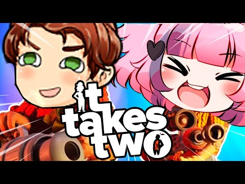 FIGHTING WITH CONNOR FOR 10 MINUTES STRAIGHT! | IT TAKES TWO FT  @CDawgVA |