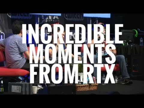 Moments at RTX Sydney - Joel doesn't get let in
