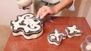 видео Изготовление лепнины