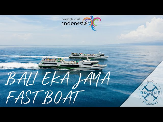 Bali Eka Jaya - Fast Boat Transfert - Gili islands,  Penida, Lempbongan