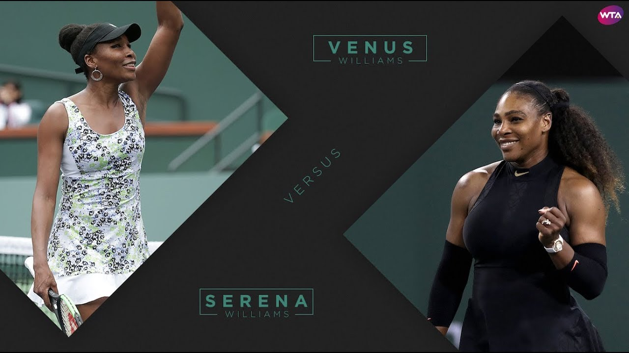 2018 Indian Wells Third Round | Venus Williams vs. Serena Williams | WTA Highlights #1