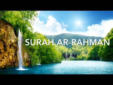 Surah Ar-Rahman الرحمن Muhammad Al-Luhaidan محمد اللحيدان - Emotional Recitation (English Subtitles)