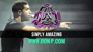 "Drake R&B beat ""Simply Amazing"" with nice piano & drums instrumental prod. by DON P"