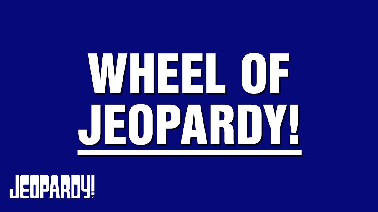Jeopardy Wheel