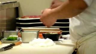 Good Sushi at Roppongi Restaurant, Tokyo