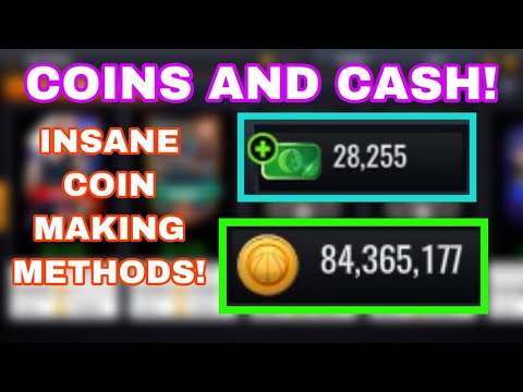 HOW TO GET COINS AND CASH IN NBA LIVE MOBILE 20!!! INSANE COIN MAKING METHODS!!!