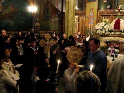 ROTTERDAM - GREEK ORTHODOX CHURCH ..(ST.NIKOLAS).. GOOD FRIDAY 1