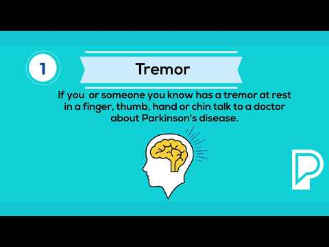 10 Early Signs of Parkinson's Disease