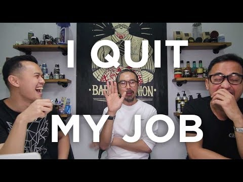 THIS GUY QUIT HIS JOB TO OPEN A BARBERSHOP!