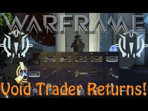 Warframe - Void Traders Returned! 102nd Rotation thumbnail