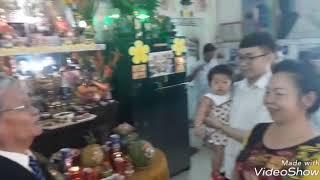 Mồng 2 tết năm 2019 tại nhà anh Hai _ trưởng tộc họ Trần Mậu chi nhánh miền Nam