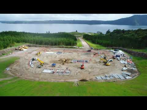 Rotoiti | Rotomā Wastewater Treatment Plant site - November 2018