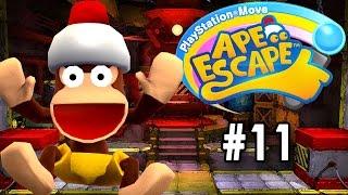 PlayStation Move Ape Escape [PT Part 11] [Skull Volcano]