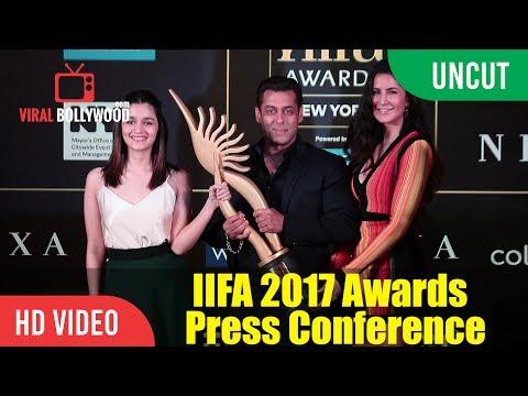 UNCUT - IIFA Awards 2017 Press Conference | Salman Khan, Katrina Kaif, Alia Bhatt