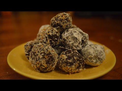 Vegan Truffles: Berry and Coconut Episode 33 Reveena's Kitchen