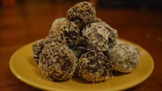 Vegan Truffles: Berry And Coconut - Episode 33 - Reveena's Kitchen