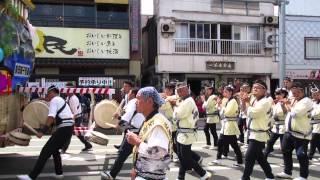 新庄まつり 2015 新松本町若連の山車行列