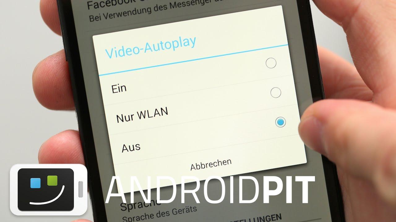 Facebook App Autoplay Deaktivieren