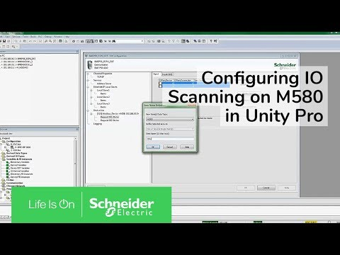 Configuring IO Scanning on M580 in Unity Pro | Schneider Electric Support