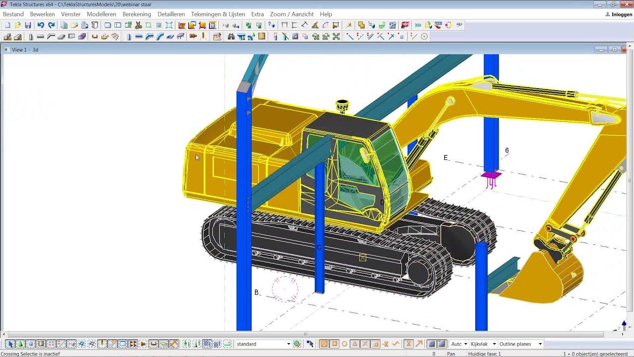Tekla Structures 20 Voor De Staalbouw 18 Maart 2014