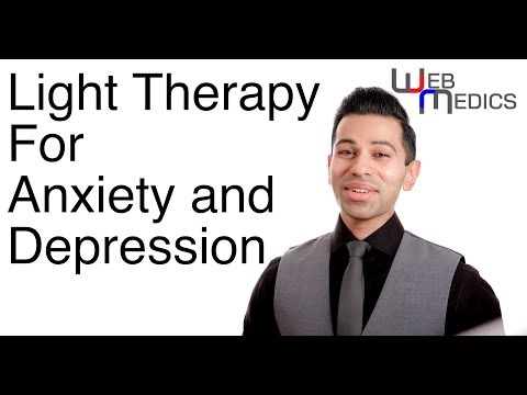 LIGHT THERAPY for anxiety and depression