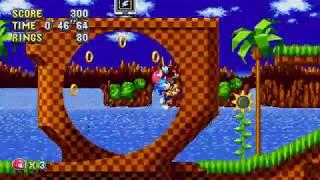 Sonic Mania PC - Team Sonic Gameplay
