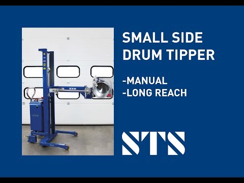 STS - Small Drum Tipping Unit Small Drum Handling Equipment (Model: STE03-DRU03)