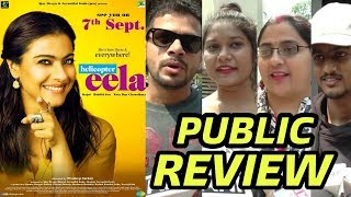 Helicopter Eela Movie Public Review   First Day First Show   Kajol
