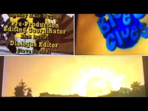 Blue's Clues, Sesame Street, The Magic School Bus, & Teletubbies Credits Remix