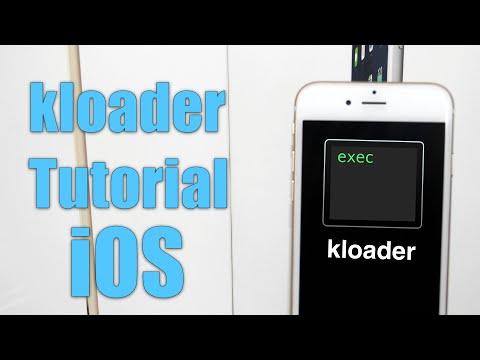 kloader iOS Tutorial   Enter DFU Mode from Userland (using pwnediBSS)