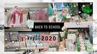 Back To School 2020 Бэк ту скул 2020 Покупаю канцелярию в колледж Стади виз ми Sweet Cat