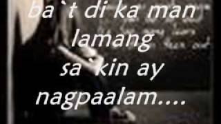di nagpaalam by brenan espartinez with lyrics