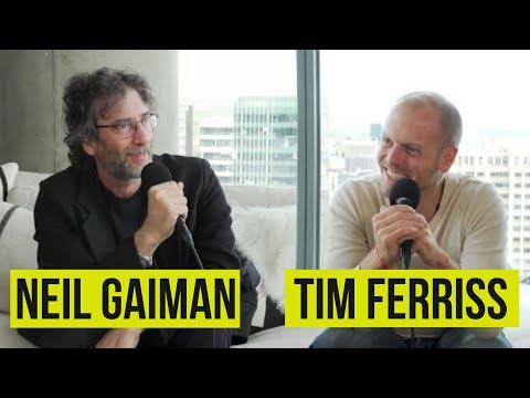Neil Gaiman Talks Dreamily About Fountain Pens, Notebooks & His Writing Process in His Long Interview with Tim Ferriss
