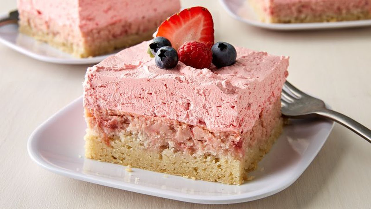 dessert strawberry easy squares cream recipes cheesecake homemade chocolate pillsbury cookie bars recipe flavor limited edition delicious cookies